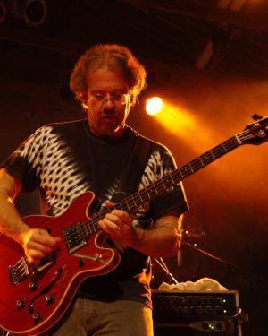 Bassist Craig Privett at the TLA